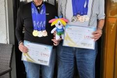 2017 Ljubljana VAD-ov sprejem za medaljaše